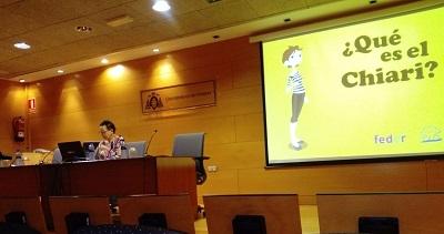 Diagnóstico Chiari. Charla médica y presentación del cómic ¿Qué es Chiari? nuevo material de difusión