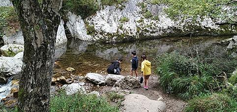 Ruta del Alba parque Natural de Redes