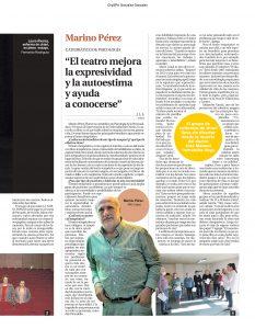 Entrevista Marino Perez catedratico de psicologia