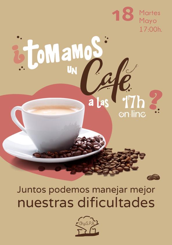 ¿Tomamos un café a las 17h el 18 de mayo de 2021?